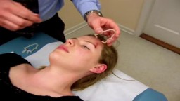 Wound Closure Near Eyebrow