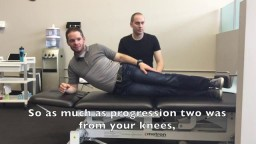 An Exercise to help with Low Back Pain - Kitchener Massage Therapy