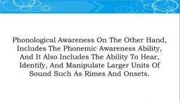 What Is Phonemic Awareness, Reading Program For Kids, Phonics For Children, Teach Your Baby To Read