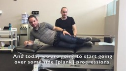An Exercise to help with Low Back Pain: The Side Plank - Strive Physiotherapy & Performance