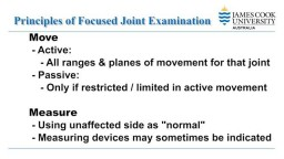 Focused Shoulder Clinical Examination