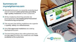 Mynetpharma- A trusted generic online pharmacy