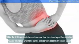 Is Cramping During Early Pregnancy a Sign of Miscarriage