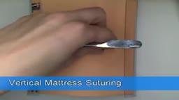 Vertical Mattress Suturing
