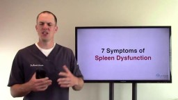 Symptoms of Spleen Dysfunction