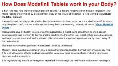 Modafinil Online Shipped Cash On Delivery In USA