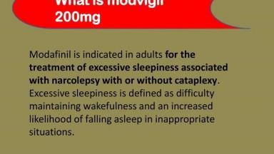 Modvigil 200mg Online on Sale | Uses , Dosage