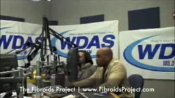 Patty Jackson WDAS  Interviews Co-Founders of The Fibroids Project (FibroidsProject.com)