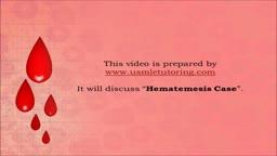 USMLE Step 2 CS - Hemetemesis