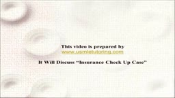 USMLE Step 2 CS - Insurance Check up