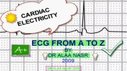 A to Z in ecg arabic lesson 2