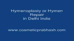 Hymenoplasty Hymen Repair Surgery