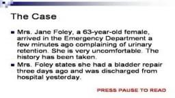 Female Foley Catheterization Technique