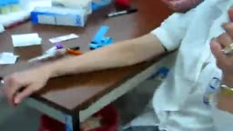 Drawing Blood Sample Venipuncture