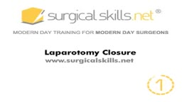 Laparotomy Closure Abdomen Animation