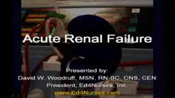 Acute Renal Failure for Nursing