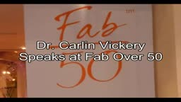 Cosmetic Breast Surgery NYC Dr. Carlin Vickery Speaks at Fab Over 50