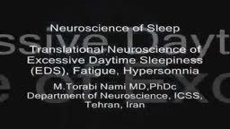 Translational Neuroscience of Excessive Daytime Sleepiness (EDS), Fatigue and Hypersomnia.