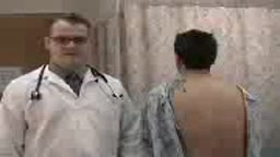 USMLE Posterior Chest Examination