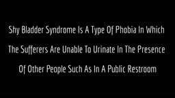 Toilet Phobia Cure Bathroom Anxiety - Phobia Of Public Toilets, How To Overcome Shy Bladde