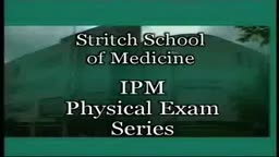 Loyola Full Male Exam Part 1