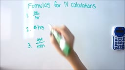 IV  Dose Calculations