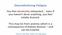 Kidney Disease Symptoms