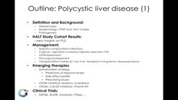 Polycystic Liver Disease