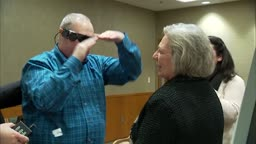 patient's first impressions with bionic eye