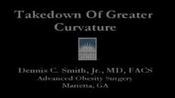 Laparoscopic Sleeve Gastrectomy Operation