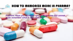 How to memorize more Drugs names
