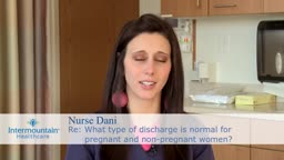 Pregnant and non-pregnant vaginal discharge