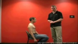 Scapula Manipulation Method of relocating a dislocated shoulder